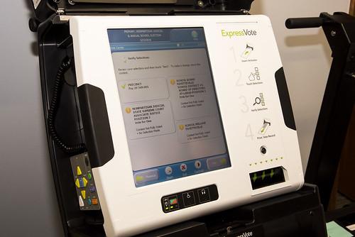 Voting Machines and Equipment