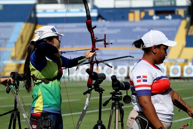 Primer día de competencias Ranking Mundial de tiro con arco 2018