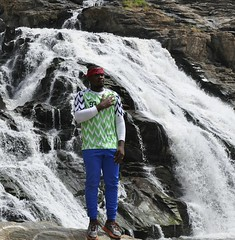 I am a #Nigeria, One in 180 million, I am adventurous, I #explore #Nigeria.  #Gurarafalls is located between #Niger state and Federal Capital Territory. The #waterfall has a lot of mythical and folktales attached to it.  #naijagems