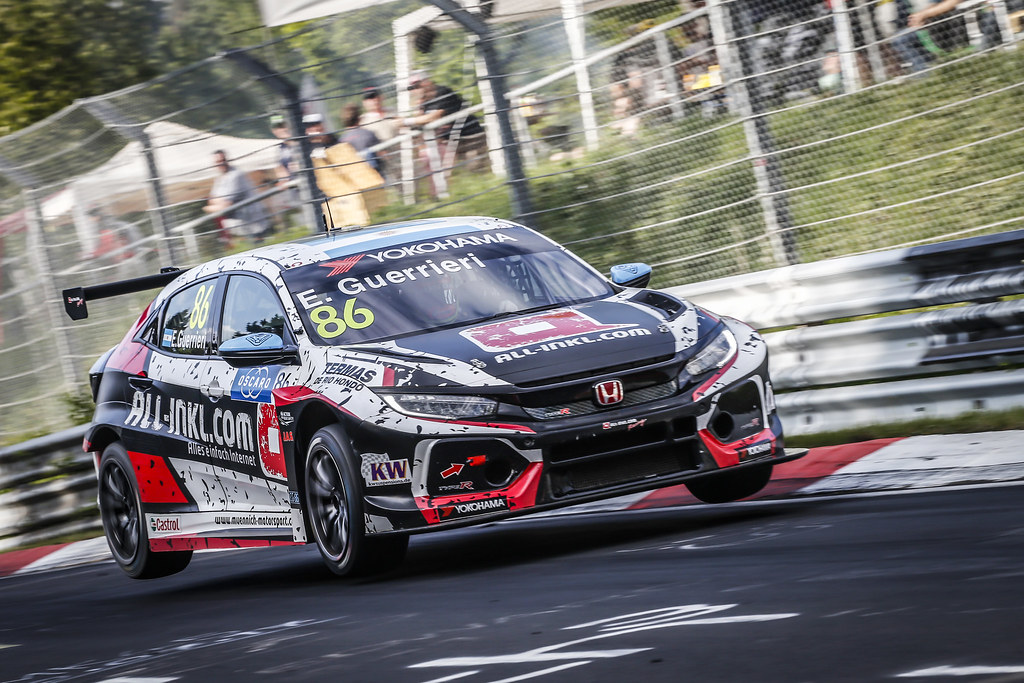 86 GUERRIERI Esteban (ARG), ALL-INKL.COM Munnich Motorsport, Honda Civic TCR, action during the 2018 FIA WTCR World Touring Car cup of Nurburgring, Nordschleife, Germany from May 10 to 12 - Photo Francois Flamand / DPPI