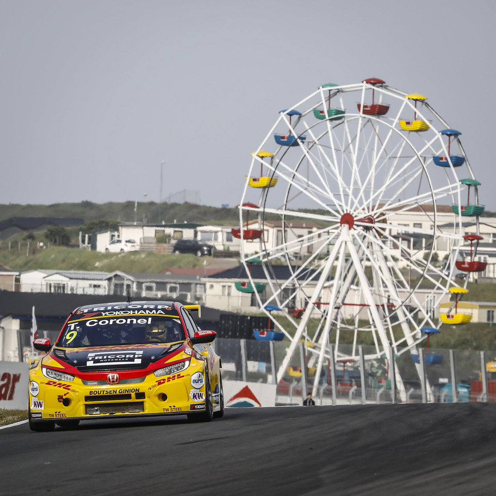 09 CORONEL Tom, (nld), Honda Civic TCR team Boutsen Ginion racing, action during the 2018 FIA WTCR World Touring Car cup of Zandvoort, Netherlands from May 19 to 21 - Photo Francois Flamand / DPPI