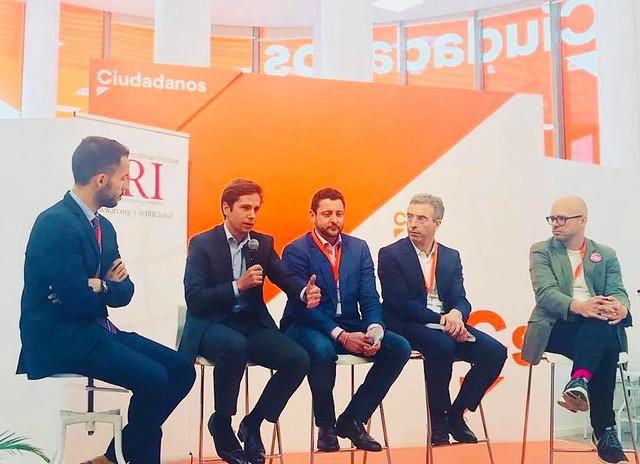 Déplacement à Madrid : rencontre avec Ciudadanos