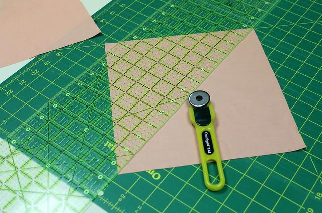 Cutting Half Squares