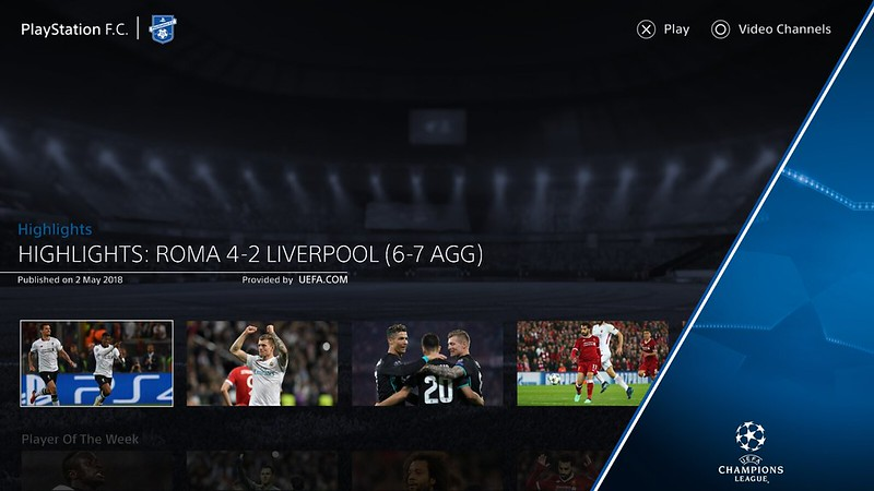 PlayStation F.C. app