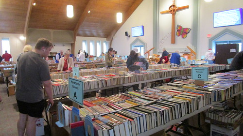 Book Sale, Prince of Peace Presbyterian Church, April 28, 2018