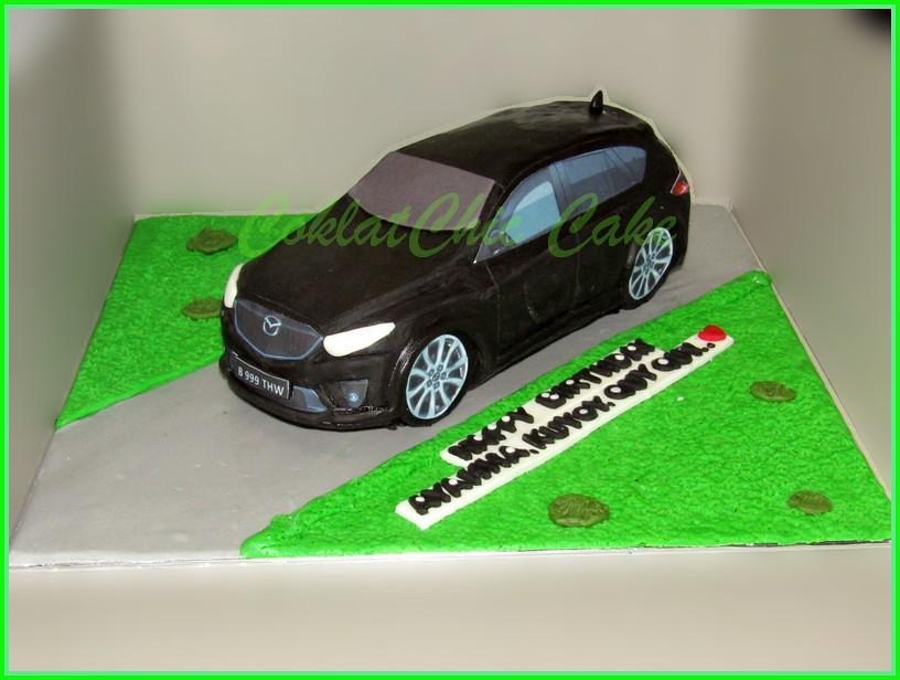 Cake Mazda CX5 AYAHA 18 cm