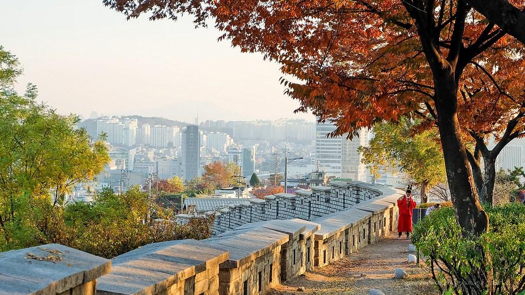 naksan_park_hanbok_autumn