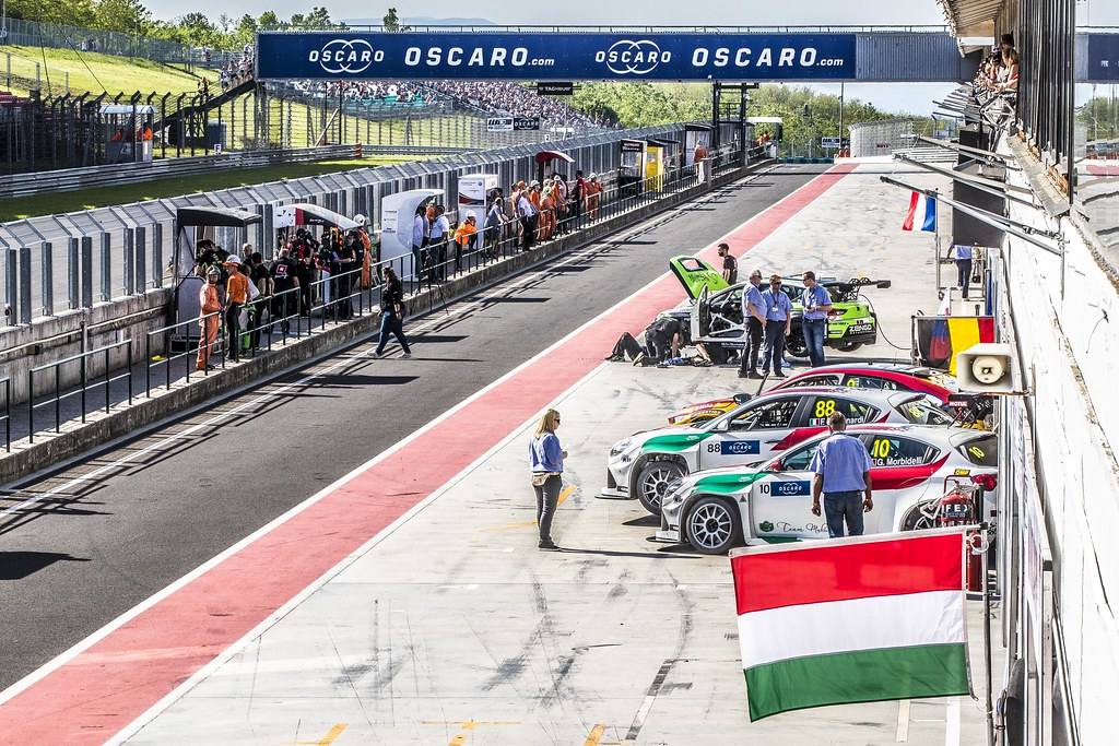 OSCARO during the 2018 FIA WTCR World Touring Car cup, Race of Hungary at hungaroring, Budapest from april 27 to 29 - Photo Gregory Lenormand / DPPI