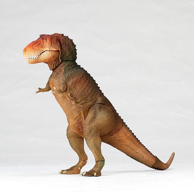 海洋堂 SOFUBI TOY BOX 「暴龍」經典圖像配色版本!ソフビトイボックス 018C ティラノサウルス (クラシックイメージカラー)