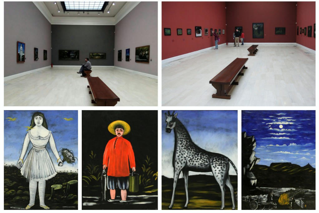 Голубая галерея Тбилиси - два художника, две судьбы