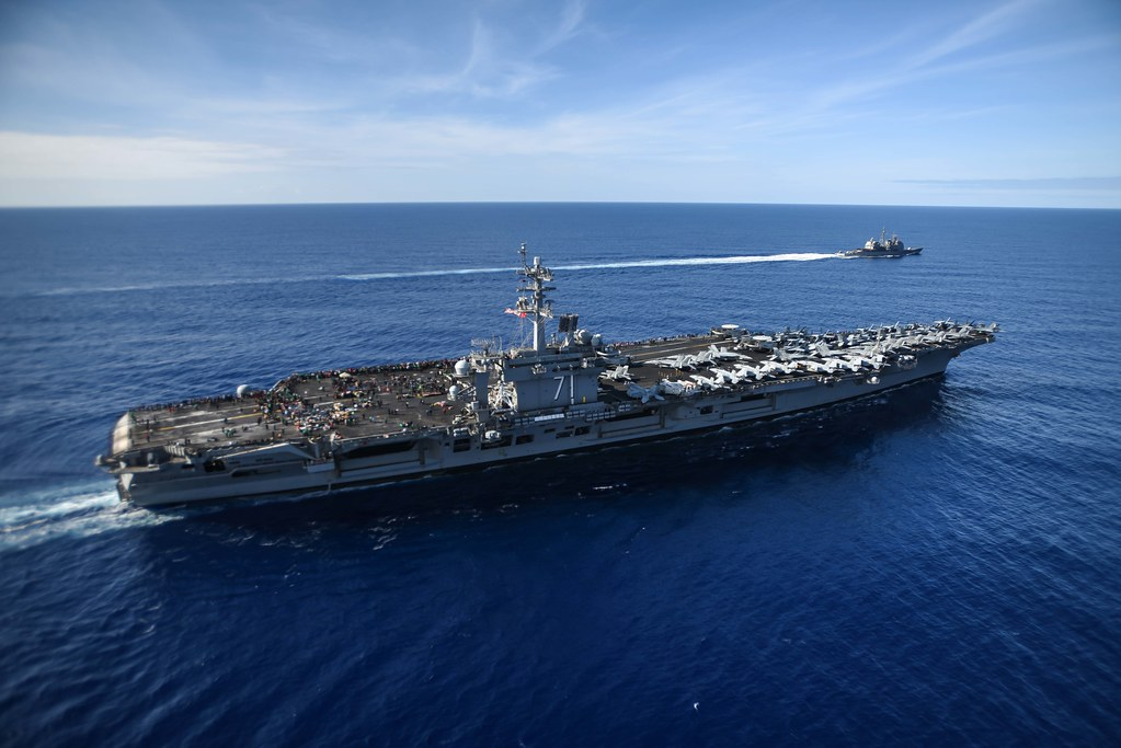 Approximately 5,000 Sailors and Marines embarked aboard the aircraft carrier USS Theodore Roosevelt (CVN 71) are scheduled to return to San Diego, May 7, along with the guided-missile cruiser USS Bunker Hill (CG 52) after a successful seven-month deployment.