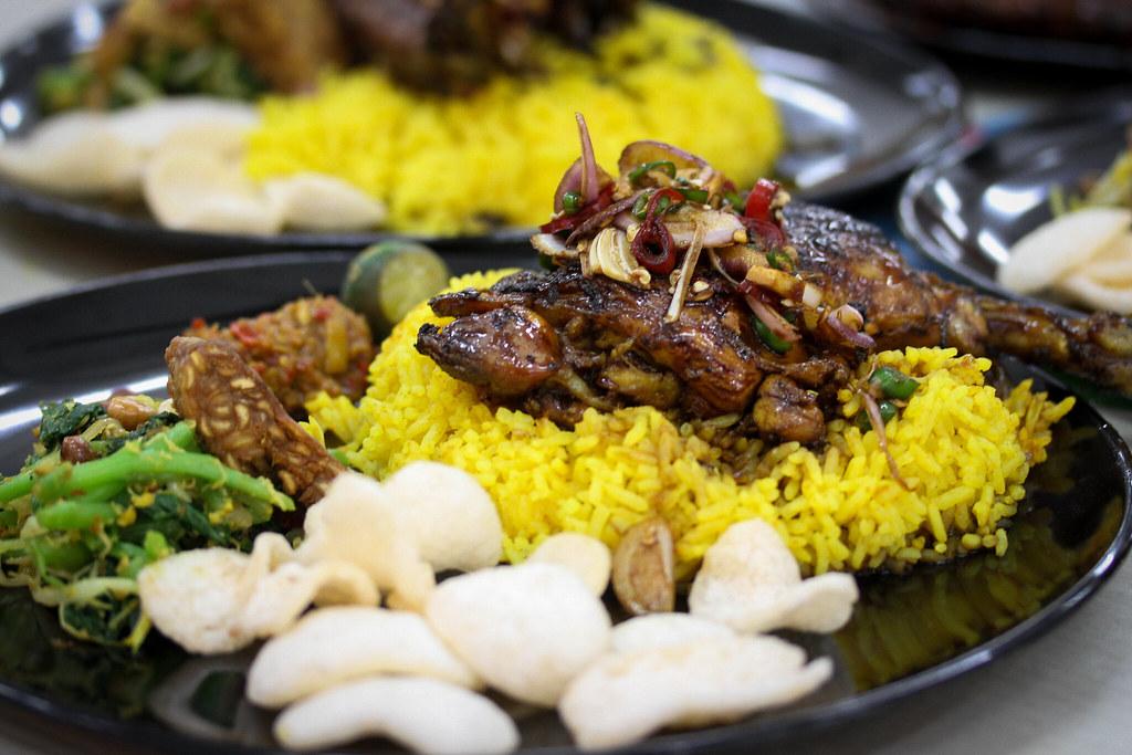 warung k - Chicken Dish