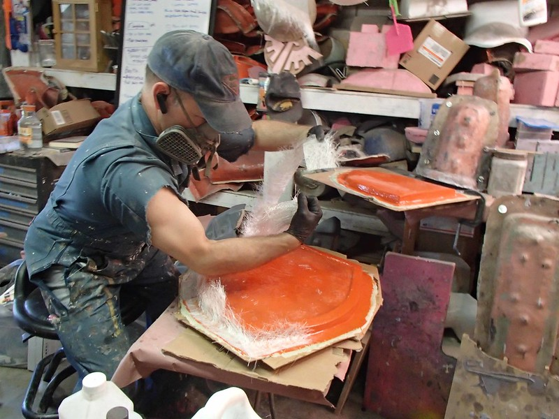 Laying Up Shield Mold