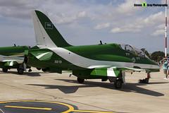8819 - 6Y013 - Saudi Hawks - Royal Saudi Air Force - British Aerospace Hawk 65A - Luqa Malta 2017 - 170923 - Steven Gray - IMG_0060