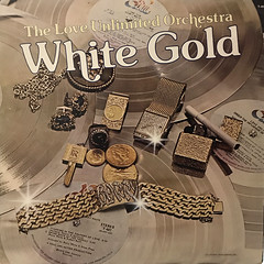 THE LOVE UNLIMITED ORCHESTRA:WHITE GOLD(JACKET A)