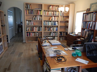 Howard Daniel Reston apartment library