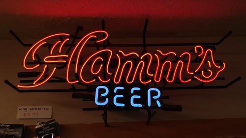 Neon Sign - Hamm's Beer