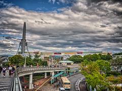 大阪モノレール 万博記念公園駅を出て