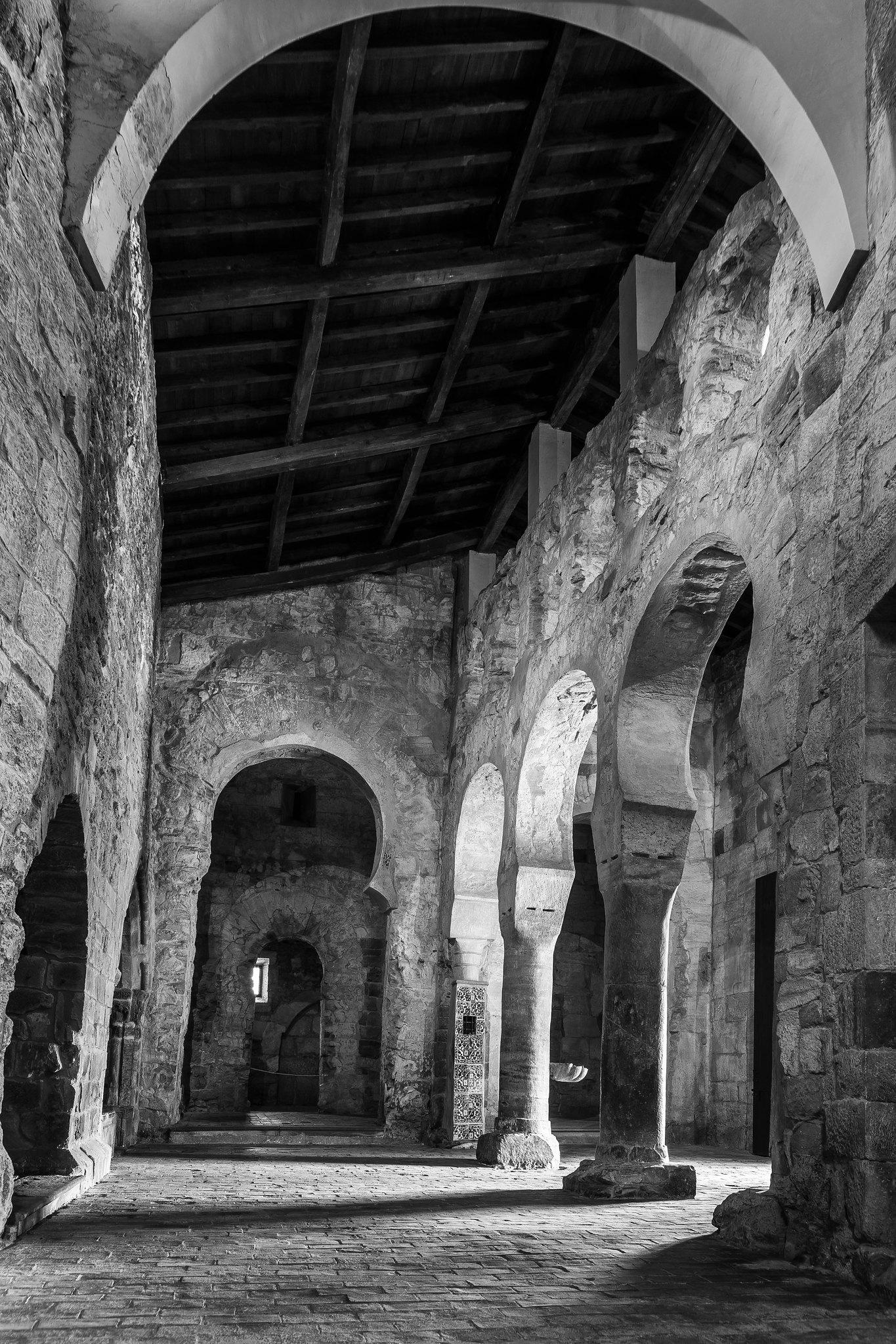 Dentro del monasterio