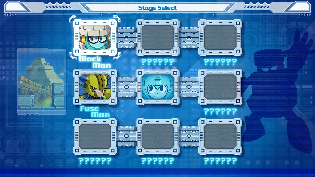 Mega Man 11 - Stage Select