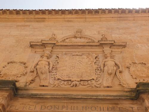 Ayuntamiento - Detalle de la portada