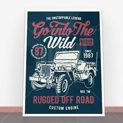 Plakat Go Into The Wild