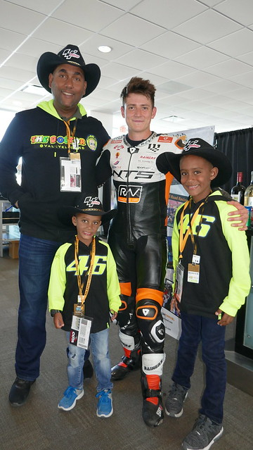 Steve Odendaal visits our suite