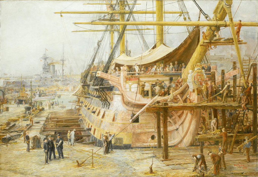 """""""The Nelson Touch"""": Restoring HMS """"Victory"""", 1805-1925 (1925)"""