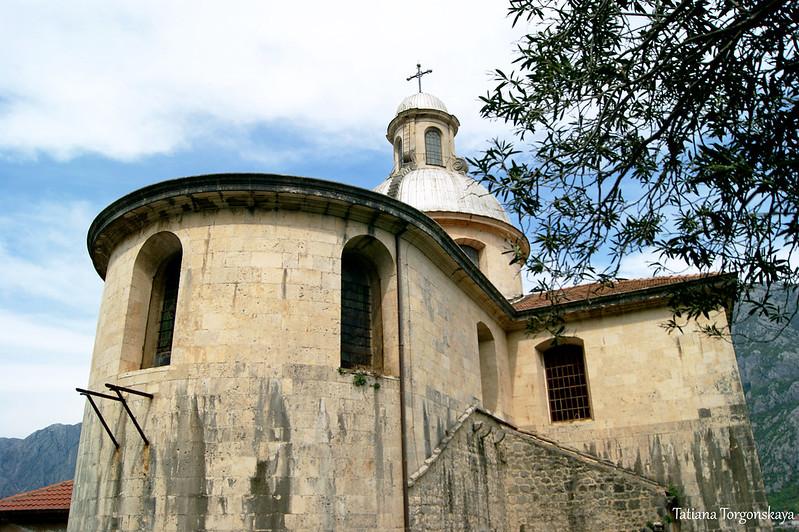 Апсида  церкви Рождества Богородицы