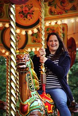Canon EOS 60D  - My lovely wife, Lisa on the carousel at York
