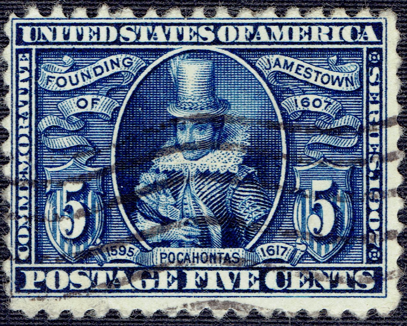United States - Scott #330 (1907)
