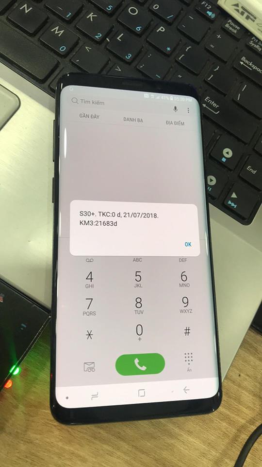 Điện thoại/Tablet - Samsung S9 S9 Plus Unlock Mở Mạng thành công