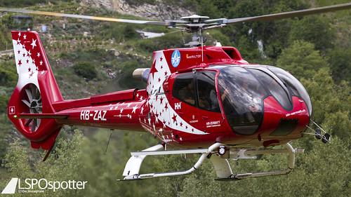 AirZermatt - Airbus Helicopter H130 - HB-ZAZ - Raron Airport