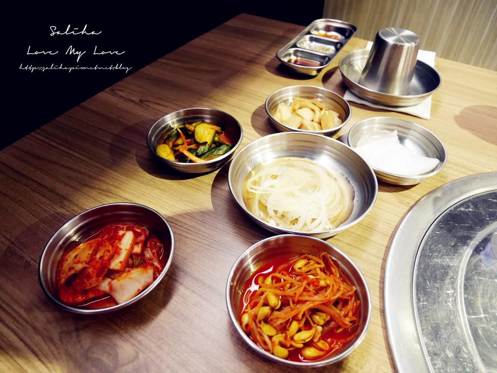 台北東區台韓民國韓式燒肉店小菜吃到飽 (1)