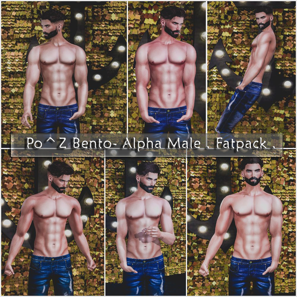 6 New Male Bento poses. at Po^Z - TeleportHub.com Live!