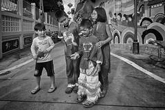 Thailand street kids