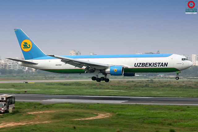 UK67001 Uzbekistan Airways Boeing 767-33P.