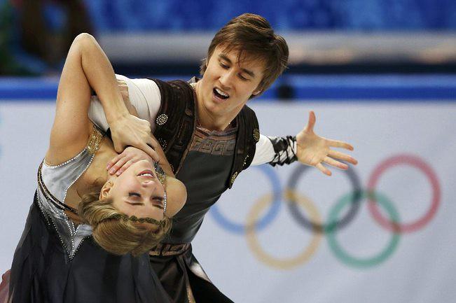 Виктория СИНИЦИНА и Руслан ЖИГАНШИН. Фото REUTERS
