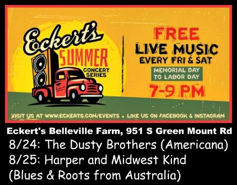 Eckert's Summer Concerts 8-24-18