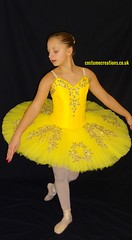 Yellow / Gold  Classical Tutu