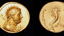 Egypt gold coin of King Ptolemy III