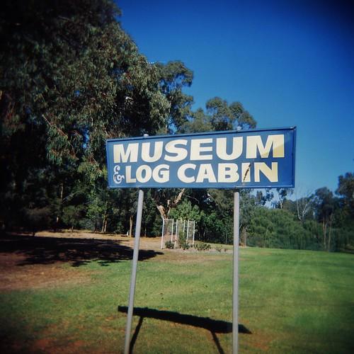 Museum & Log Cabin