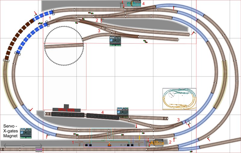 Under Bed Son/Dad Track Plan - Model Rail Forum