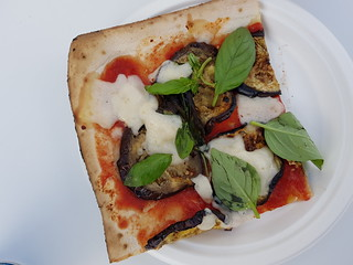 Melanzane Pizza from by Gigi at Love Child Miami