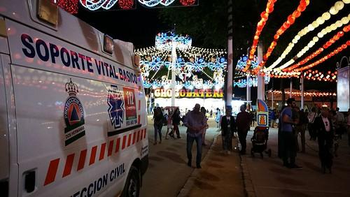 Feria de Mayo servicios sanitarios