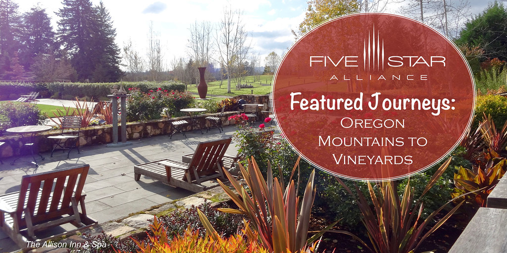 Featured Journeys: Oregon Mountains to Vineyards