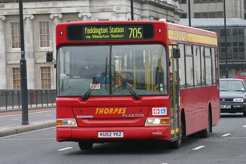 Thorpes  KU52 YKZ   London Bridge  8-5-09