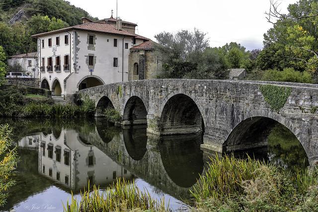 Puente de la Trinidad de Arre (Navarra)