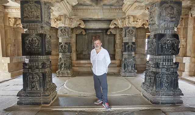 Hazararama temple interior
