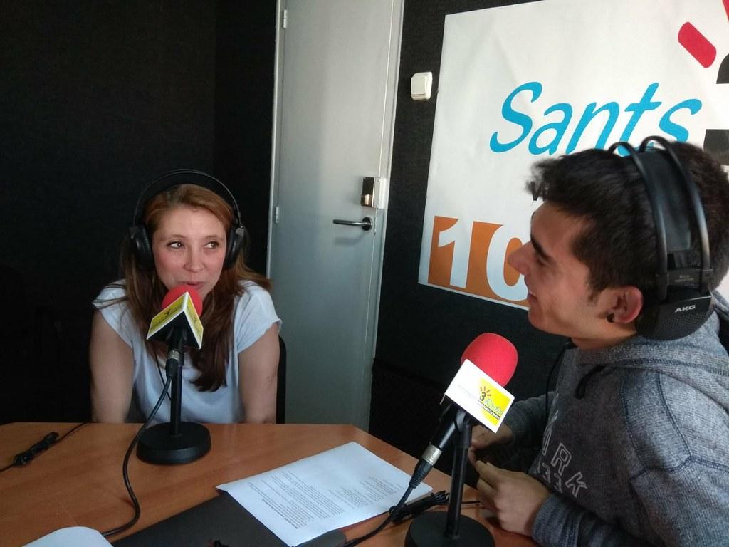 Míriam Monfort a Districte Esportiu de Sants 3 Radio - 14/05/2018 - clubarcmontjuic - Flickr
